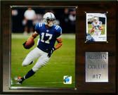 """NFL 12""""x15"""" Austin Collie Indianapolis Colts Player Plaque"""