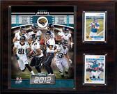 """NFL 12""""x15"""" Jacksonville Jaguars 2012 Team Plaque"""
