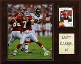 """NFL 12""""x15"""" Matt Cassel Kansas City Chiefs Player Plaque"""