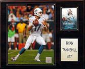 "NFL 12""x15"" Ryan Tannehill Miami Dolphins Player Plaque"