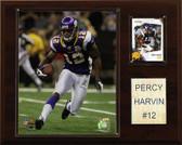 "NFL 12""x15"" Percy Harvin Minnesota Vikings Player Plaque"