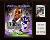 """NFL 12""""x15"""" Percy Harvin Rookie of the Year Minnesota Vikings Player Plaque"""