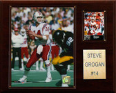 "NFL 12""x15"" Steve Grogan New England Patriots Player Plaque"