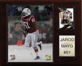 "NFL 12""x15"" Jerod Mayo New England Patriots Player Plaque"