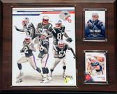 "NFL 12""x15"" New England Patriots 2013 Team Plaque"