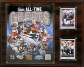 """NFL 12""""x15"""" New England Patriots All-Time Great Photo Plaque"""