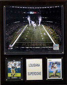 "NFL 12""x15"" Louisiana Superdome Stadium Plaque"