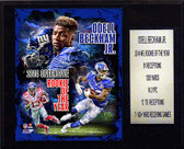 "NFL 12""x15"" Odell Beckham Jr. 2014 NFL ROY New York Giants Player Plaque"