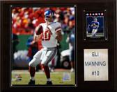 "NFL 12""x15"" Eli Manning New York Giants Player Plaque"