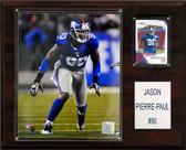 "NFL 12""x15"" Jason Pierre-Paul New York Giants Player Plaque"