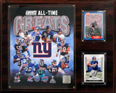 """NFL 12""""x15"""" New York Giants All-Time Great Photo Plaque"""
