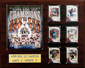 "NFL 16""x20"" New York Giants Super Bowl XLVI Champions Plaque"