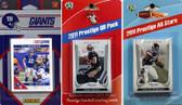 NFL New York Giants Licensed 2011 Score Team Set With Twelve Card 2011 Prestige All-Star and Quarterback Set