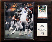 "NFL 12""x15"" Joe Klecko New York Jets Player Plaque"