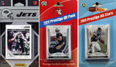 NFL New York Jets Licensed 2011 Score Team Set With Twelve Card 2011 Prestige All-Star and Quarterback Set