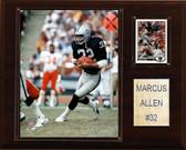 """NFL 12""""x15"""" Marcus Allen Oakland Raiders Player Plaque"""