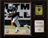 """NFL 12""""x15"""" Darren McFadden Oakland Raiders Player Plaque"""