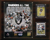 "NFL 12""x15"" Oakland Raiders All -Time Great Photo Plaque"