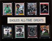 "NFL 12""x15"" Philadelphia Eagles All-Time Greats Plaque"