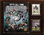 """NFL 12""""x15"""" Philadelphia Eagles All -Time Great Photo Plaque"""