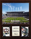 "NFL 12""x15"" Lincoln Financial Field Stadium Plaque"