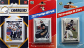 NFL San Diego Chargers Licensed 2011 Score Team Set With Twelve Card 2011 Prestige All-Star and Quarterback Set