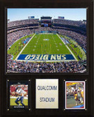 "NFL 12""x15"" Qualcomm Stadium Stadium Plaque"