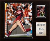 "NFL 12""x15"" Jerry Rice San Francisco 49ers Player Plaque"