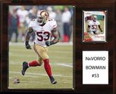 "NFL 12""x15"" NaVorro Bowman San Francisco 49ers Player Plaque"