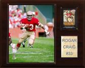 """NFL 12""""x15"""" Roger Craig San Francisco 49ers Player Plaque"""