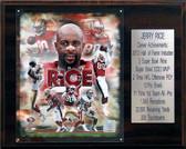 "NFL 12""x15"" Jerry Rice San Francisco 49ers Career Stat Plaque"