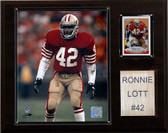 "NFL 12""x15"" Ronnie Lott San Francisco 49ers Player Plaque"