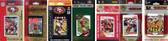 NFL San Francisco 49ers 7 Different Licensed Trading Card Team Sets