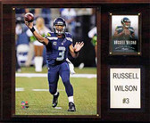 """NFL 12""""x15"""" Russell Wilson Seattle Seahawks Player Plaque"""