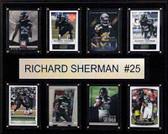 "NFL 12""x15"" Richard Sherman Seattle Seahawks 8-Card Plaque"