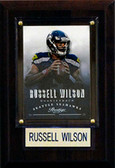 """NFL 4""""x6"""" Russell Wilson Seattle Seahawks Player Plaque"""