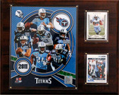 "NFL 12""x15"" Tennessee Titans 2011 Team Plaque"