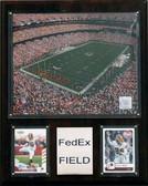 """NFL 12""""x15"""" FedEx Field Stadium Plaque"""