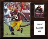 """NFL 12""""x15"""" Pierre Garcon Washington Redskins Player Plaque"""