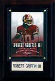 "NFL 4""x6"" Robert Griffin III Washington Redskins Player Plaque"