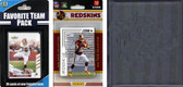 NFL Washington Redskins Licensed 2012 Score Team Set and Favorite Player Trading Card Pack Plus Storage Album