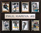"NHL 12""x15"" Paul Karyia Anaheim Ducks 8-Card Plaque"