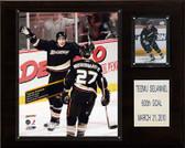 """NHL 12""""x15"""" Teemu Selanne Anaheim Ducks 600th Goal Plaque"""