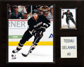 "NHL 12""x15"" Teemu Selanne Anaheim Ducks Player Plaque"