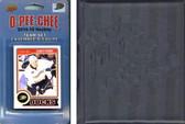 NHL Anaheim Ducks 2014 O-Pee-Chee Team Set and a storage album and a storage album