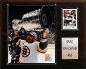 "NHL 12""x15"" Brad Marchand Boston Bruins Player Plaque"