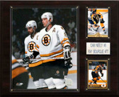 "NHL 12""x15"" Neely-Bourque Boston Bruins Player Plaque"