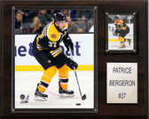 "NHL 12""x15"" Patrice Bergeron Boston Bruins Player Plaque"