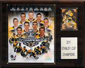 "NHL 12""x15"" Boston Bruins 2010-2011 Stanley Cup Champions Plaque"