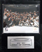 "NHL 12""x15"" Boston Bruins 2010-2011 Stanley Cup Celebration Plaque"